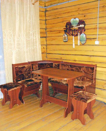 Уютная комната-кухня