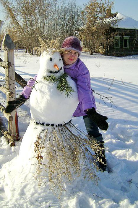 Снежная подружка