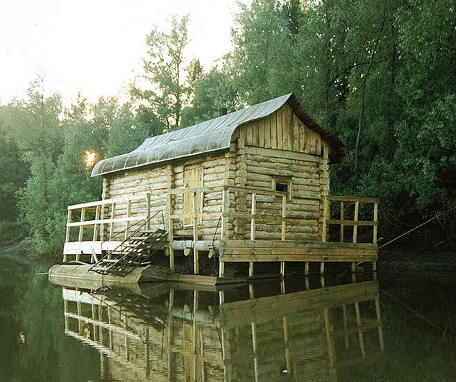 Баня на речке