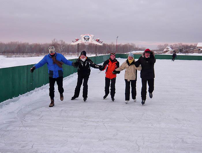Ледниковый период в Русском Доме:)