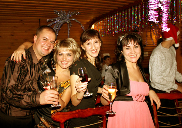 Новый Год в Русском Доме